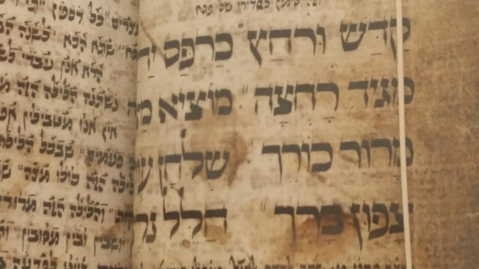 How one haggadah makes the case forIsrael